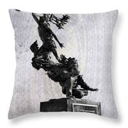 Wilt Chamberlain Throw Pillow