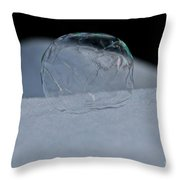 Wilted Ice Throw Pillow