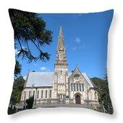 Wimborne Road Cemetery Throw Pillow