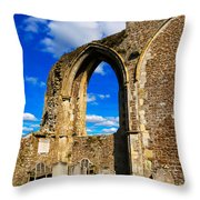 Winchelsea Church Throw Pillow