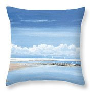Winchelsea Gulls Throw Pillow
