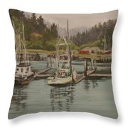 Winchester Bay Throw Pillow