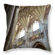Winchester Cathedral Throw Pillow