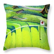 Winchester Country Club II Throw Pillow