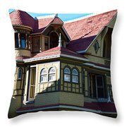 Winchester Mystery House 2 Throw Pillow