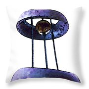 Wind Chime 8 Throw Pillow by Sharon Cummings