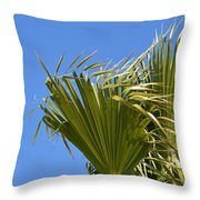 Wind In The Palm Throw Pillow