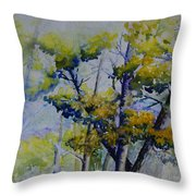 Wind In The Trees  Throw Pillow