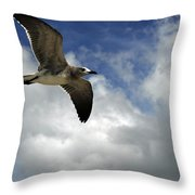 Wind Of The Day  Throw Pillow