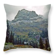Wind Rivers 3 Throw Pillow