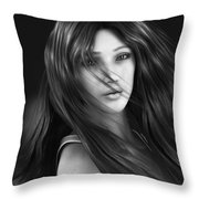 Wind Smells Of Freedom Throw Pillow