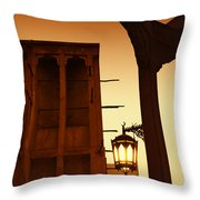 Wind Tower Throw Pillow