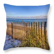 Wind Whipped Throw Pillow