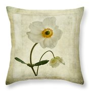 Windflowers Throw Pillow