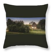 Winding Home Throw Pillow
