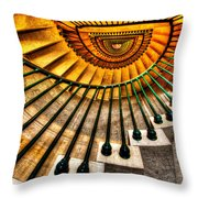 Winding Up Throw Pillow