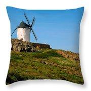 Windmill Hill Throw Pillow