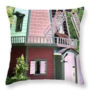 Windmill - Photopower 1554 Throw Pillow