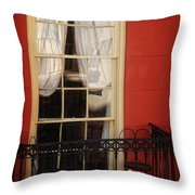 Window Access Throw Pillow