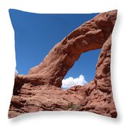 Window Arch Throw Pillow