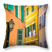 Window Cornucopia Throw Pillow