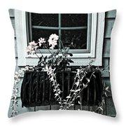 Window Dresser Throw Pillow by Bonnie Bruno
