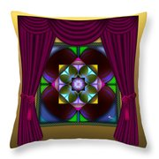 Window Dressing 2 Throw Pillow