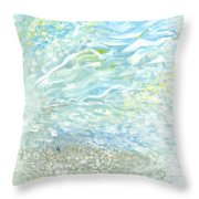 Window From Heaven Throw Pillow