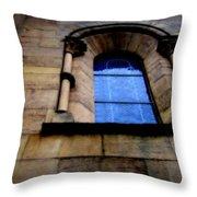 Window In Otterburg Throw Pillow