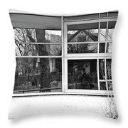 Window In Window Throw Pillow