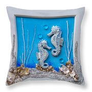 Window Into A Watery World 1 Throw Pillow