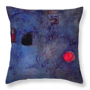 Window Oil On Canvas Throw Pillow