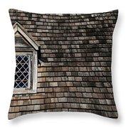 Window On Squares Throw Pillow
