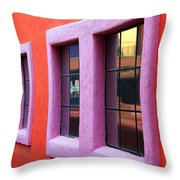 Window Reflections 2 Throw Pillow