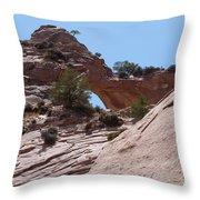 Window Rock 2 Throw Pillow