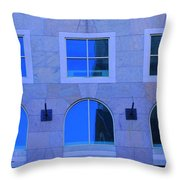 Window Shapes Throw Pillow