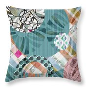 Window Shopping II Throw Pillow