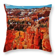 Window To Bryce Throw Pillow