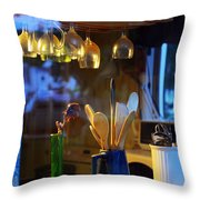 Window To My Kitchen Throw Pillow