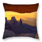 Window To Mystery  Throw Pillow