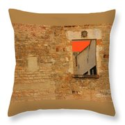 Window To Nowhere Throw Pillow