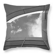 Window To The Sun - 4 - Bw Throw Pillow