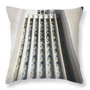 Window Tower Throw Pillow