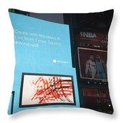 Windows 8 Throw Pillow