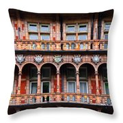 Windows And Arches Throw Pillow