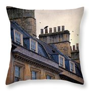 Windows And Chimneys Throw Pillow