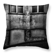 Windows And Cracks Throw Pillow