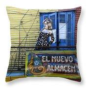 Windows And Doors Buenos Aires 17 Throw Pillow