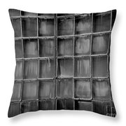 Windows Black And White 2 Throw Pillow