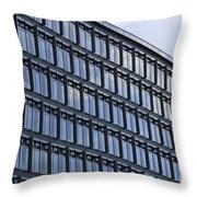 Windows In Copenhagen Throw Pillow